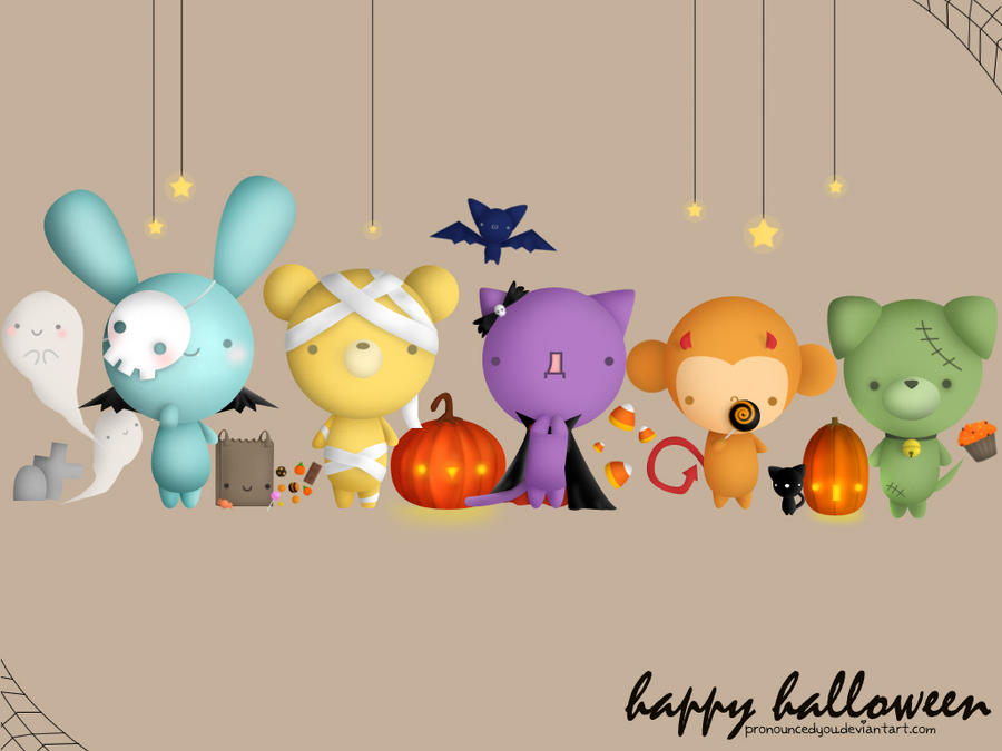 Halloween Wallpaper by pronouncedyou on DeviantArt