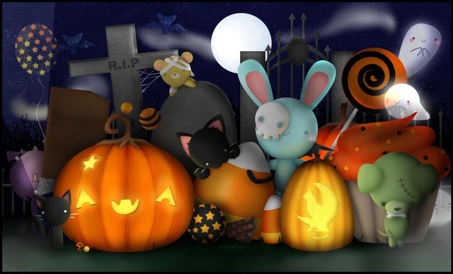 Halloween Party by pronouncedyou