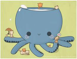 Octopus by pronouncedyou