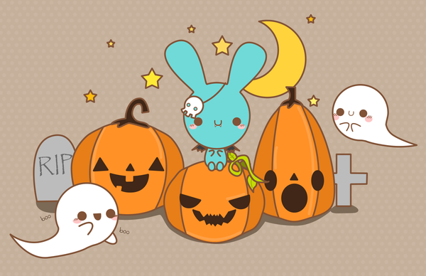 cute halloween by pronouncedyou on DeviantArt
