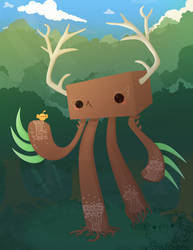 forest giant deux by pronouncedyou