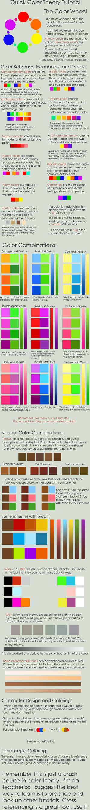 Color Theory Crash Course