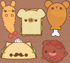 cute cuisine by pronouncedyou