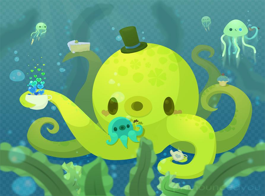 Underwater Tea by pronouncedyou