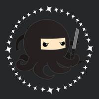 ninja octopus by pronouncedyou