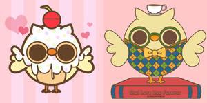 Owls by pronouncedyou