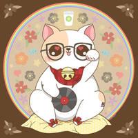Hipster Maneki Neko