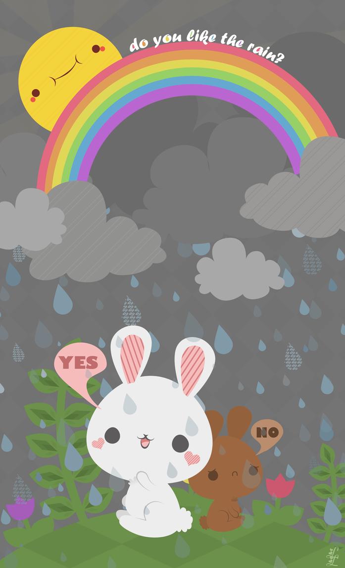 Rain by pronouncedyou