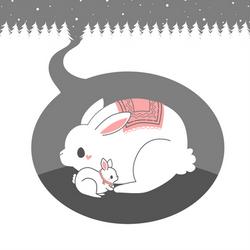 Snow Bunnies by pronouncedyou