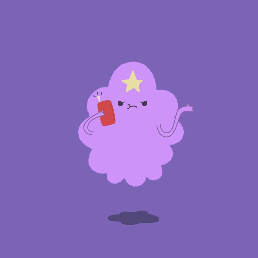 AT: Lumpy Space Princess by pronouncedyou on DeviantArt