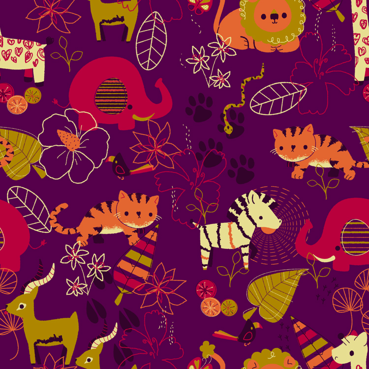 Exotic Animal Pattern by pronouncedyou