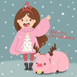 A Mabel and Waddles Christmas