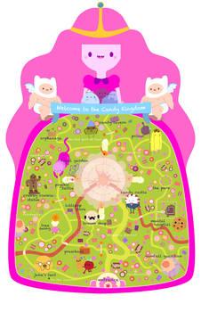 Candy Kingdom Map