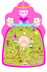 Candy Kingdom Map