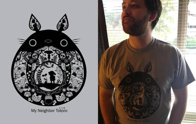 Totoro Shirt by pronouncedyou