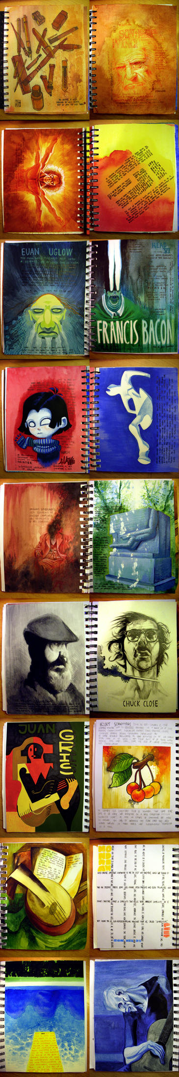 Journal pages by FabianMonk
