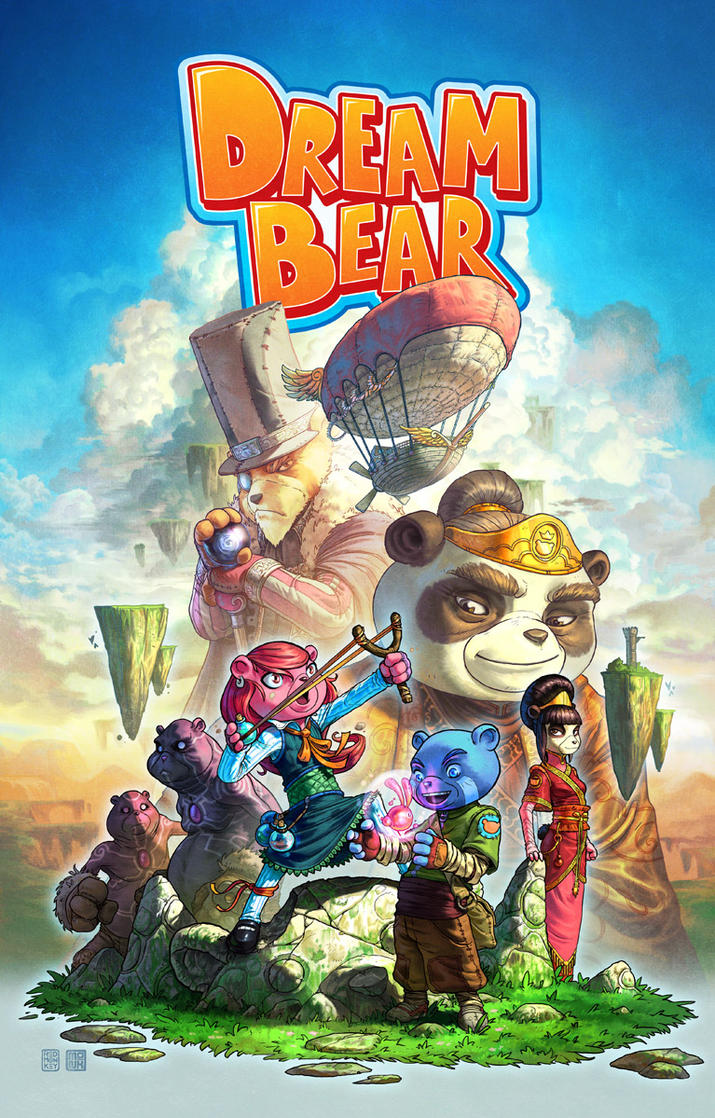 Dream Bear Promo Poster by FabianMonk