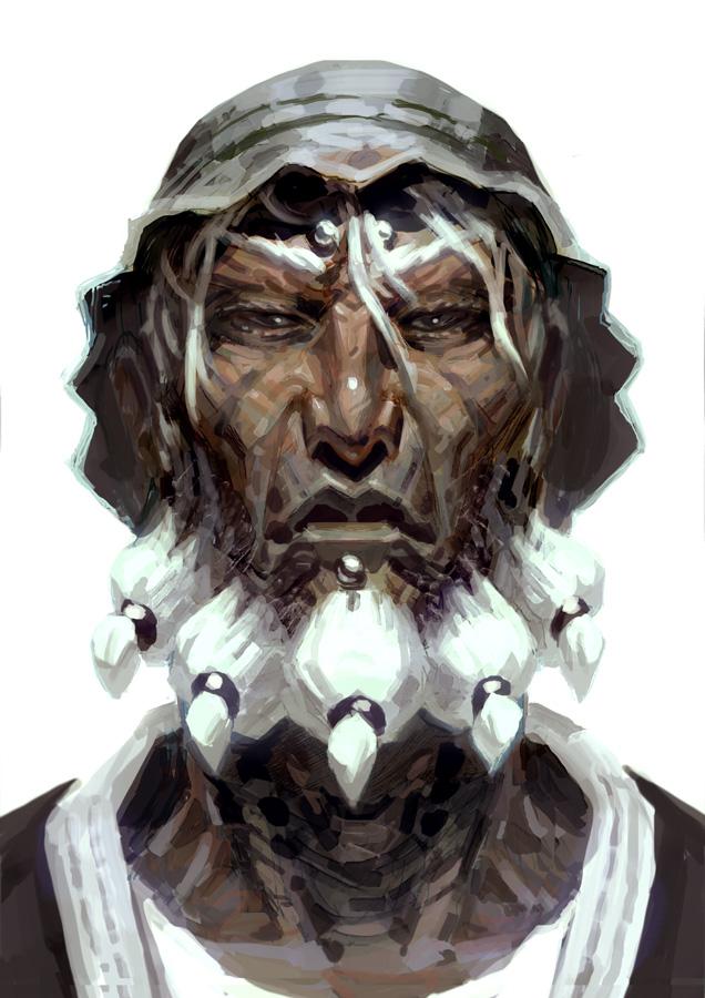 Om Portrait Study by FabianMonk