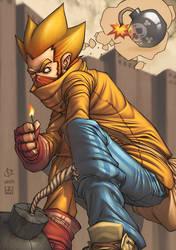 Mr. Bombface reloaded by FabianMonk