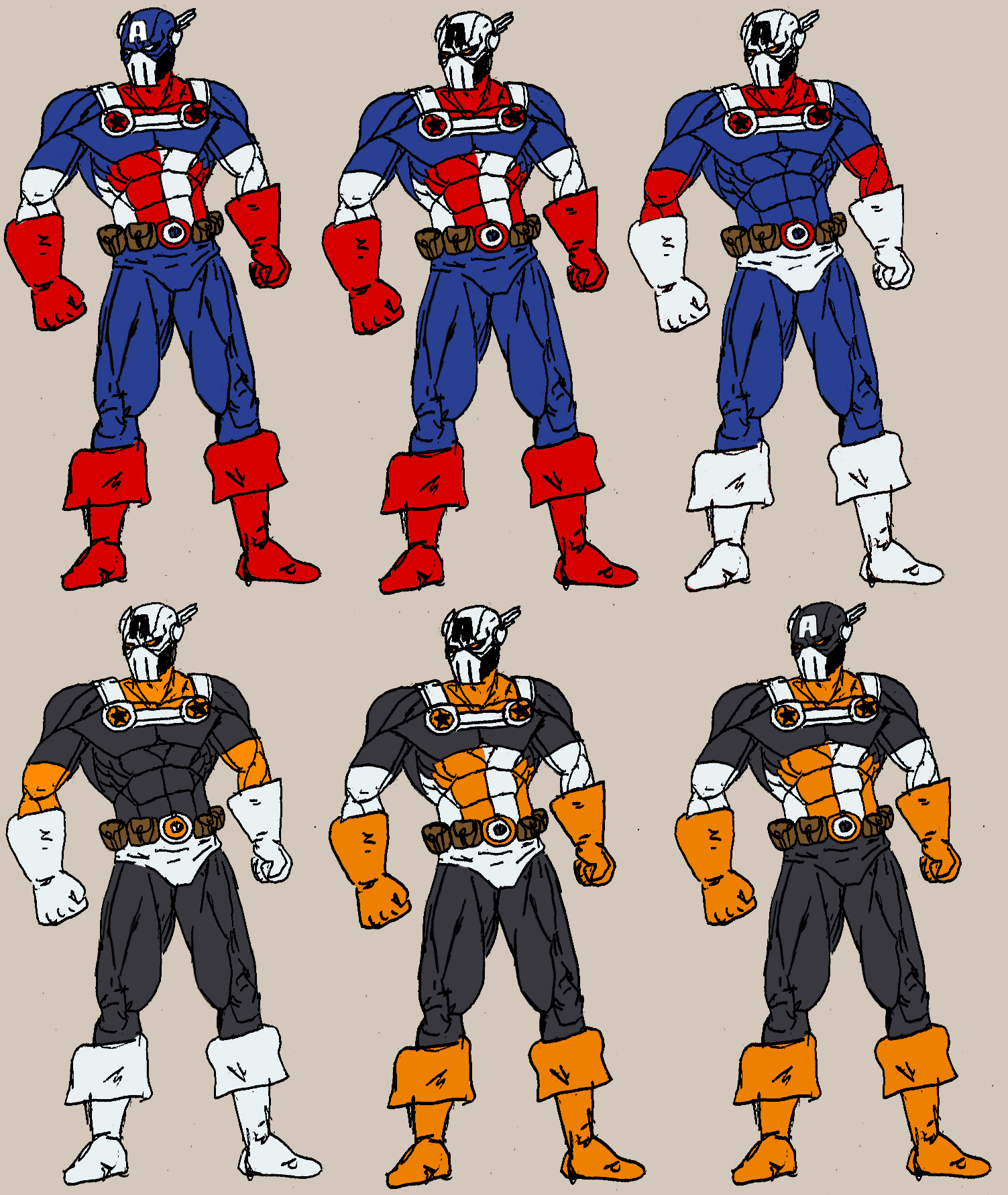 Taskmaster Cap America Concept by jaredjlee