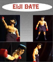 Custom Eiji Date Figure by jaredjlee