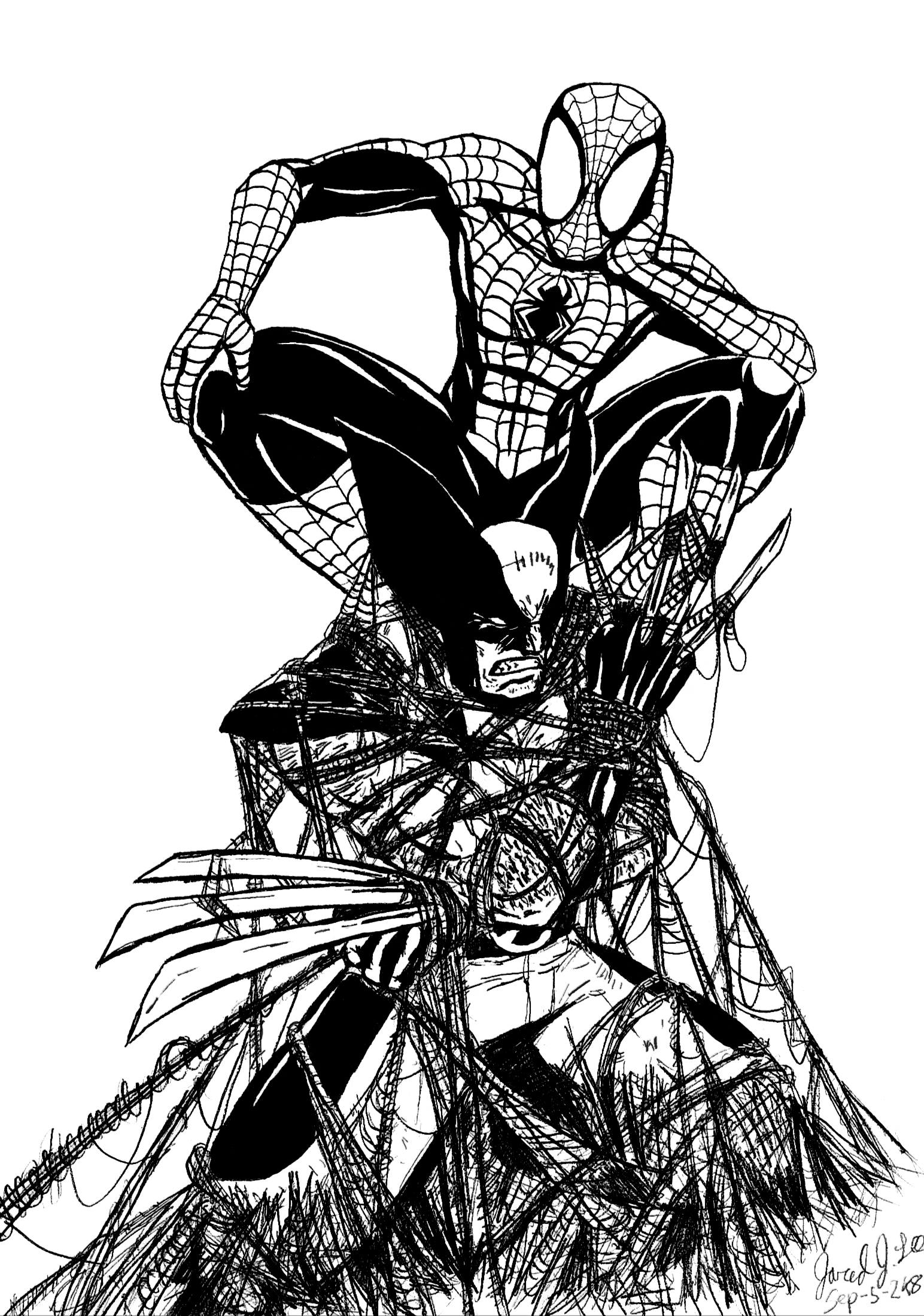 Ultimate spiderman venom coloring pages - digitalspace.info