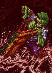 Savage Dragon by jaredjlee