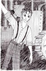 Steampunk Boy I by Mirithil7