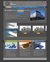 aras machin home page industrial website by mabdesigner
