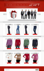 GiftKish clothes  website by mabdesigner