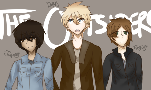 ThE OuTsIdErS by skyfeather19