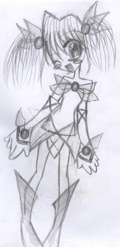 pixie anime girl by muziekzaholic