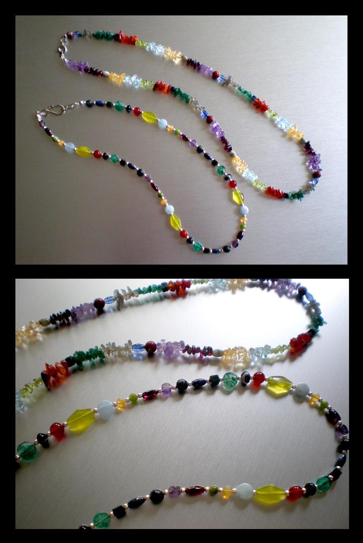 Revelations Necklaces Revamped by Aeternus-Spero