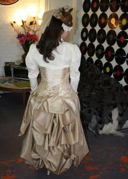 More of my steampunk/victorian bride