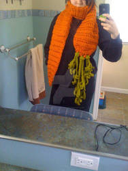 Carrot scarf!