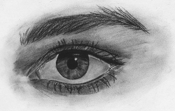 Charcoal Eye by theresebees on DeviantArt