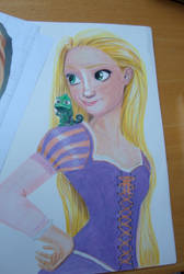 Tangled WIP 5 by theresebees