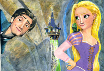 Tangled: I had a dream by theresebees