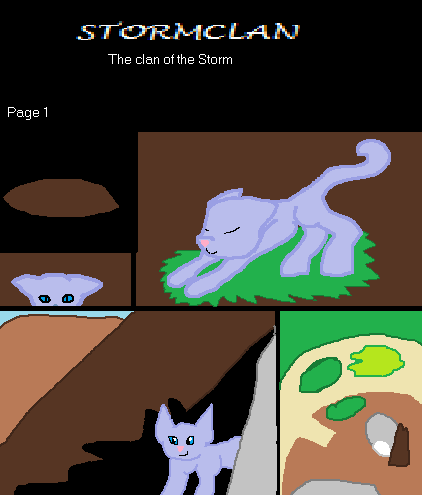 The Clan of the Storm - Page 1 by SkyStar901