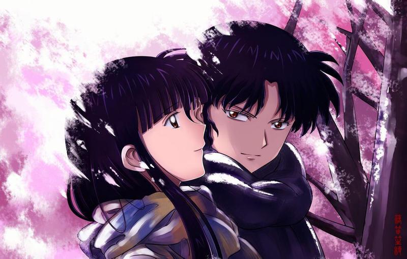 PangurBann 41 5 Inuyasha Kikyo And Naraku By