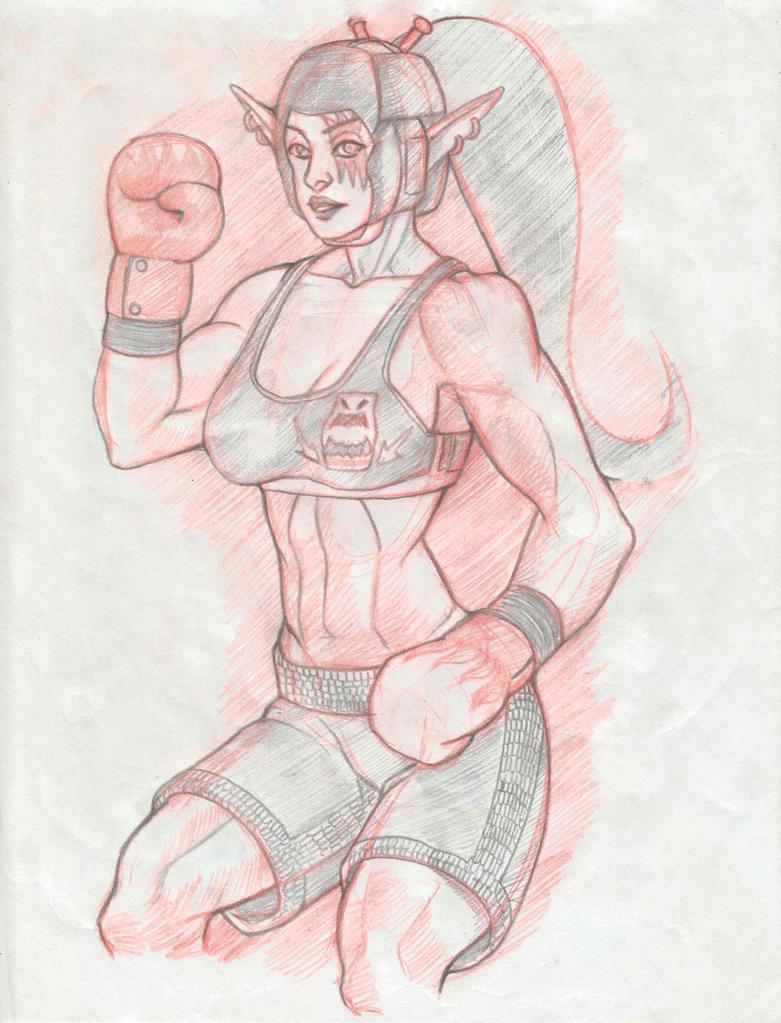 Kotara Pencil Sketch by EliasMadekin