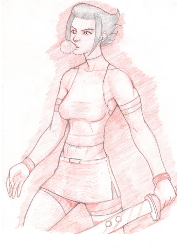 Comission Sketch 2015 / 2 by EliasMadekin