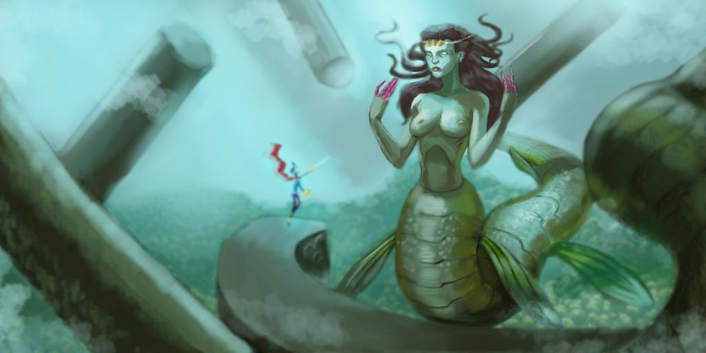 Sea Encounter by EliasMadekin