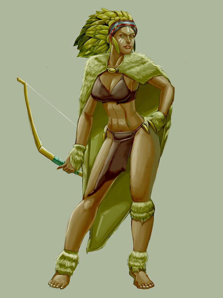 Tribal Warrior by EliasMadekin