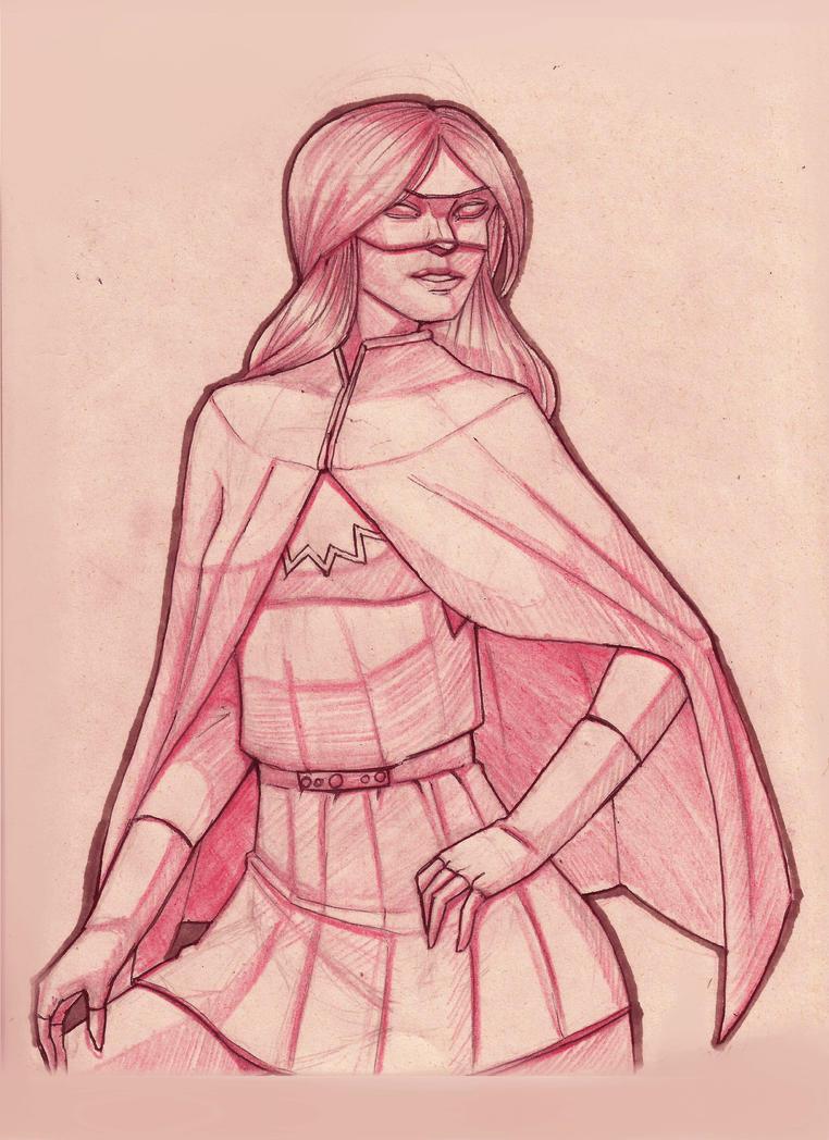 Katy Frasier sketch by EliasMadekin