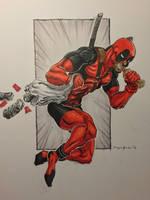 Deadpool - Save the 'changas! by amonkeyonacid