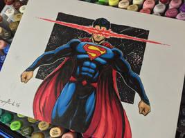 Rebirth Superman by amonkeyonacid