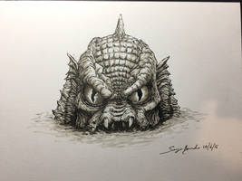 Creature from the Black Lagoon - Monster Squad by amonkeyonacid