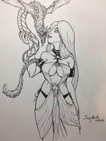 Pet Dragon by amonkeyonacid