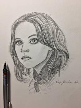 Jyn Erso sketch